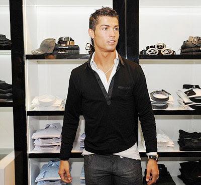 Shop Fashion Trends on Fashion Trends  Cristiano Ronaldo Opens Second Cr7 Store In Lisbon