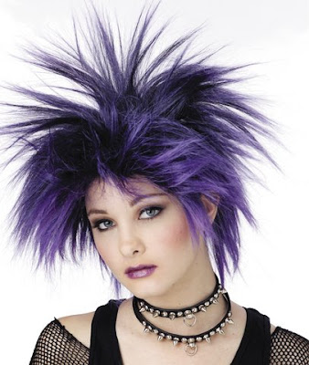 cyber goth hairstyles. Gothic hair can do wonders