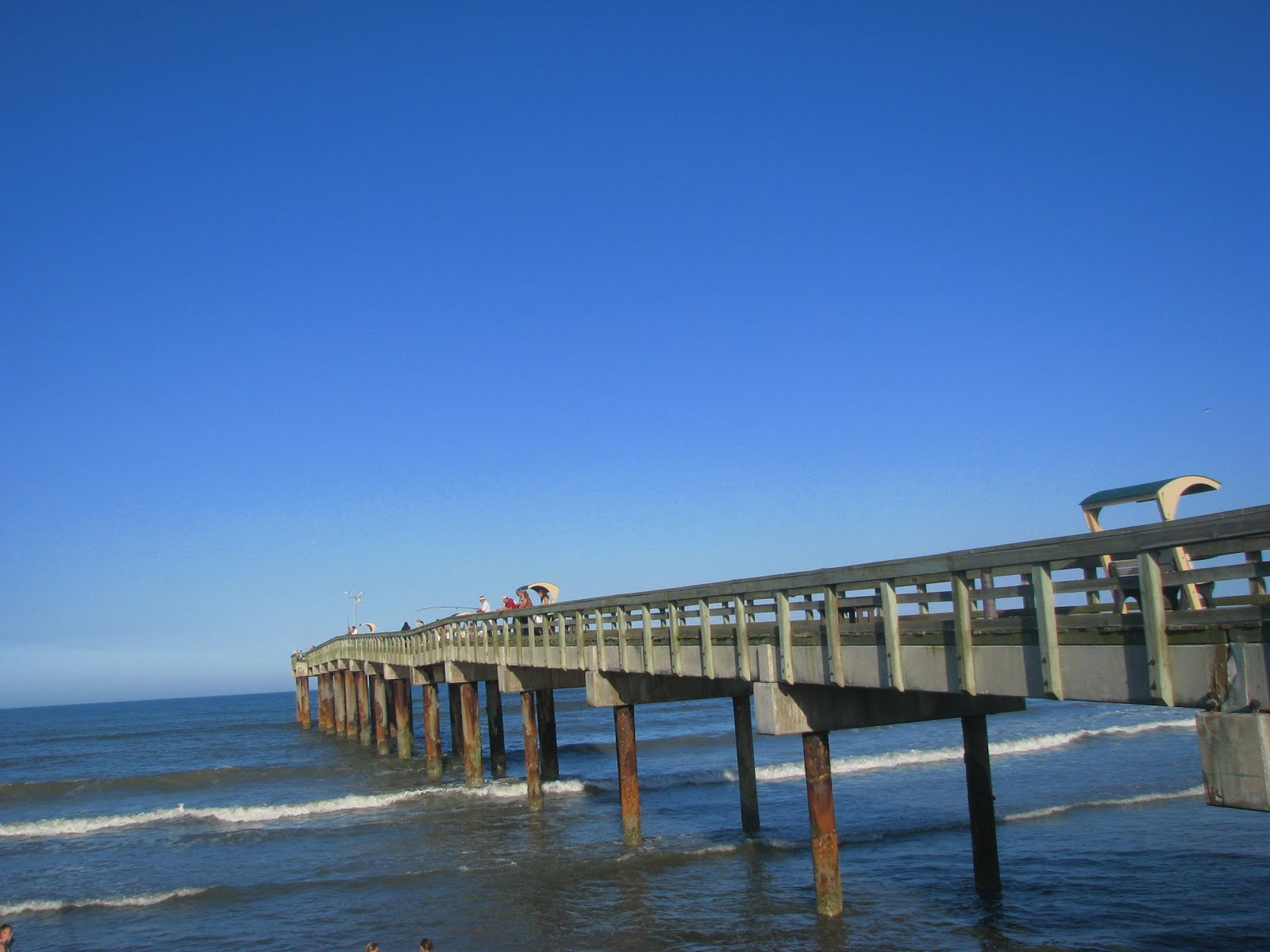 Pl fallin photography fishing pier st augustine beach for St augustine fishing