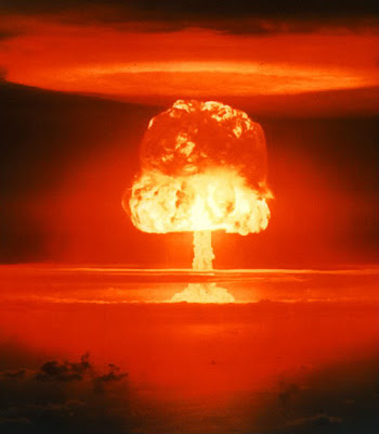 "The dirty secret of the atom bomb is that it is a ""peace maker"","