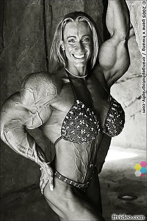 Female Muscle Morphs Amanda Dunbar Female Bodybuilder