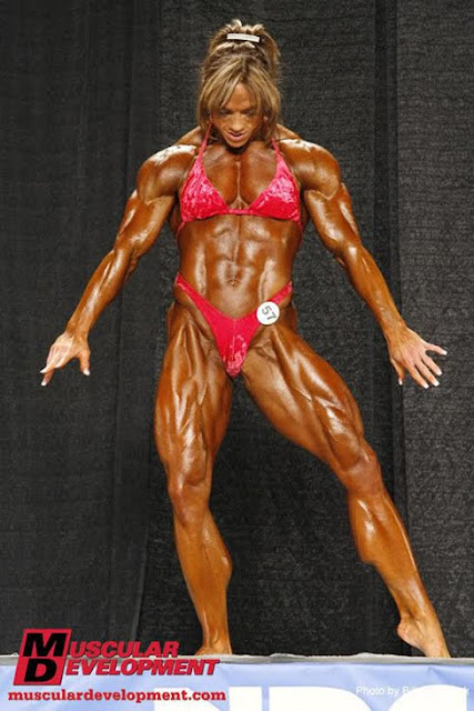 Sheila Bleck USA World Female Bodybuilderes