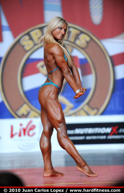 Katka Kyptova Female Muscle Bodybuilder