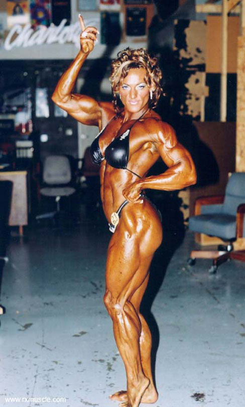 Helle Nielsen Pro Female Bodybuilder RXMuscle
