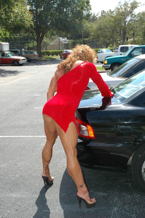 Sheila Bleck Female Muscle Legs