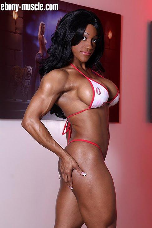 Akila Pervis Female Muscle Bodybuilder