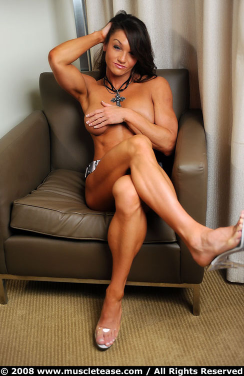 Casey Brocato Hot Female Muscle Legs