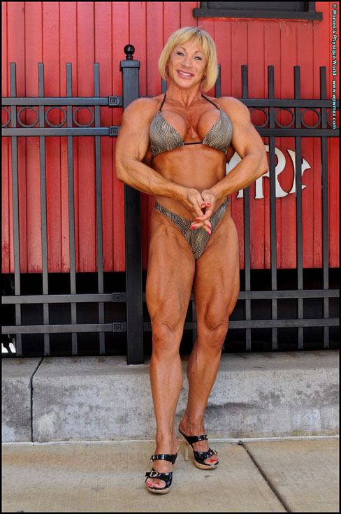 Kathy Connors Female Bodybuilder Muscle WPWMax