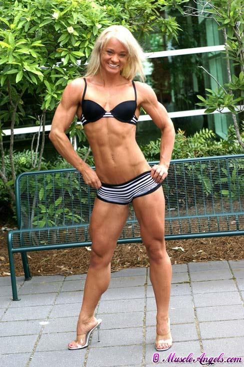 Andrea Swanson Female Muscle Figure Competitor