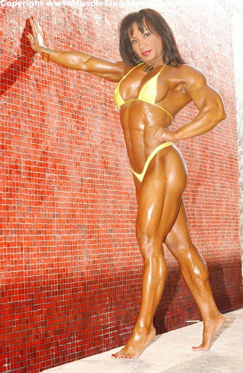 Mah-Ann Mendoza Female Muscle Bodybuilding