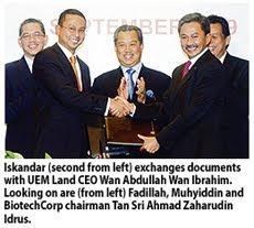 UEM Land to Develop Biotech Park