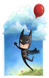 Desenhos do Batman feito por artistas