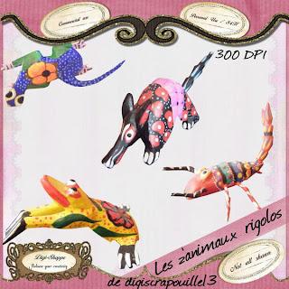 pack animaux PV+digishoppe