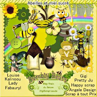 abeille et miel sucré Angele55