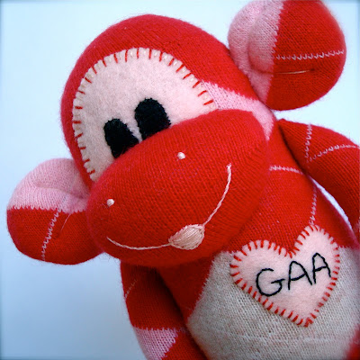 custom sock monkey