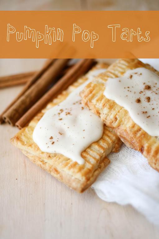 Une-deux senses: Pumpkin Pie Pop Tarts with Maple Glaze