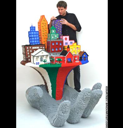 [lego+hand+city]