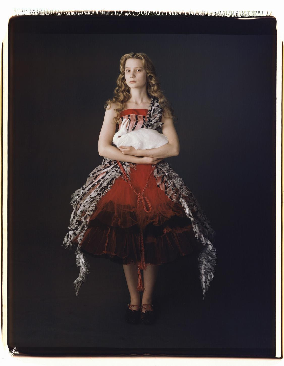 Alice Wonderland Red Dress