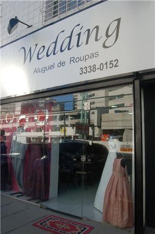 WEDDING - ALUGUEL DE ROUPAS