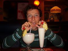 Zio Coco in un pub di Riga (2008)