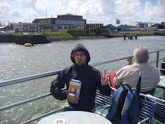 Sulla nave in giro per il porto di Rotterdam (2008)
