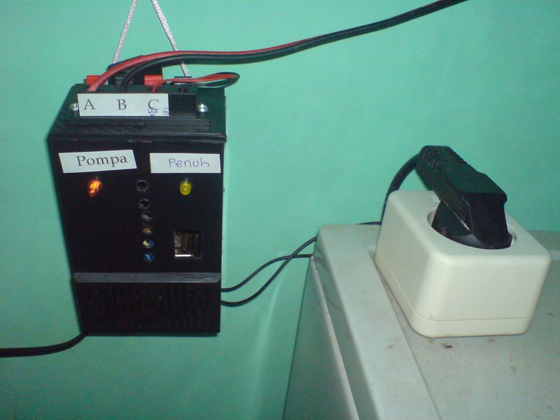 ESOPA (Elektronik Semi Otomatis Pompa Air)