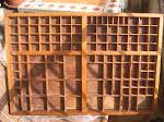 Historia de un cajón de imprenta