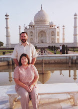 Morning at Taj Mahal