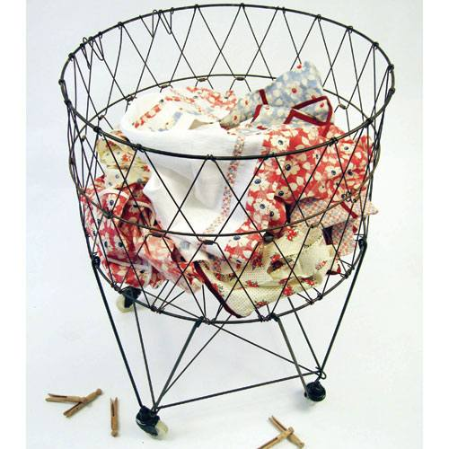 Wire+laundry+basket