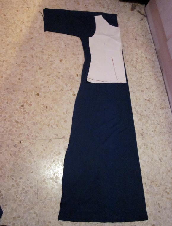 Como hacer un vestido largo y sencillo