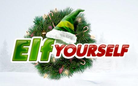 dancing christmas elf santa claus and christmas
