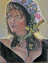 Original pastel portrait by Karen Nagy (me)