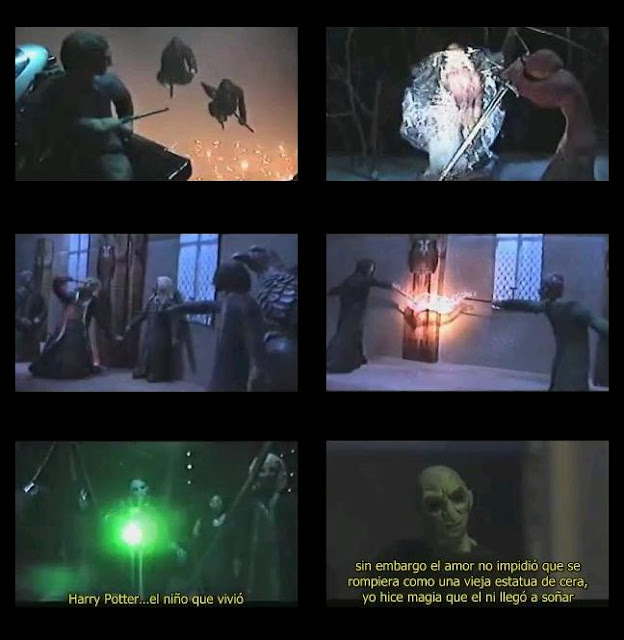 capturas harry potter y las reliquias de la muerte film stop motion