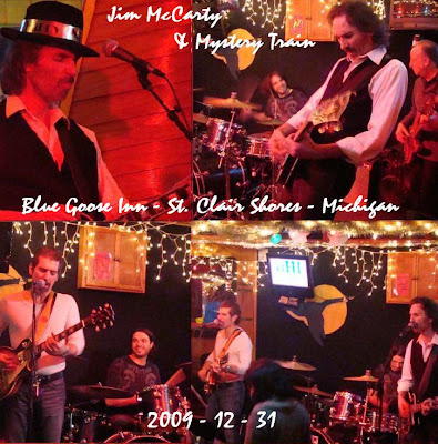 Jim McCarty & Mystery Train (Blue Goose Inn - St. Clair Shores - Michigan - 2009-12-31 - Flac)