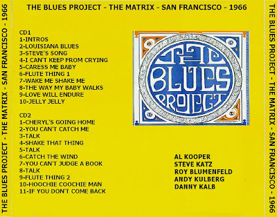 The Blues Project - The Matrix - San Francisco - September 1966