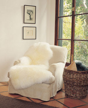A Few Other Rooms Featuring A Sheepskin Throws.