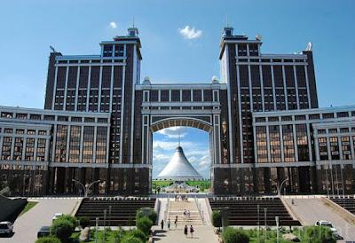 Worlds largest tent khan shatyr