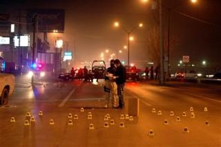 la violencia en mexico