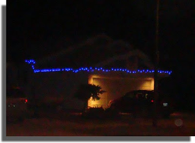 Neighbors lights by night