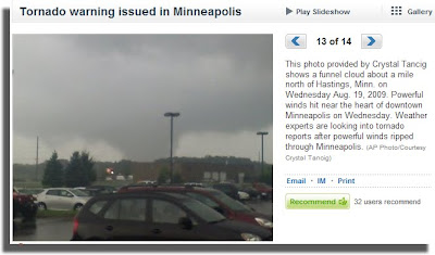 Minneapolis Tornado