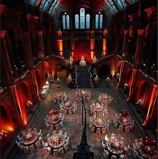 london party venues natural history museum