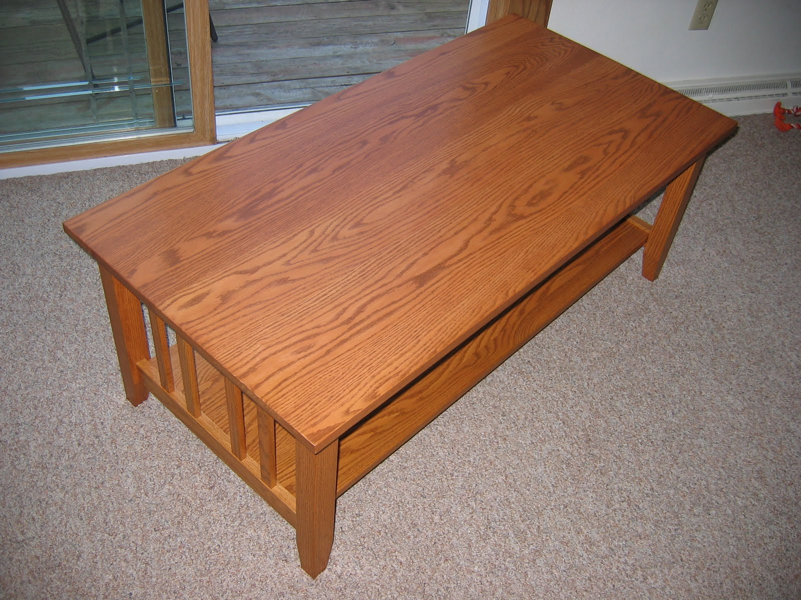 Chris Project Page Craftsman Style Coffee Table Done