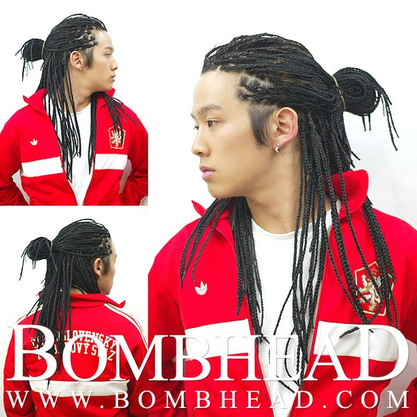 ETHNIC HAIRSTYLES: Asian men can rock these looks also.