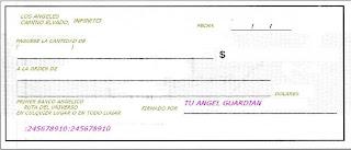 el libro magico de embrujo cheque de la abundancia