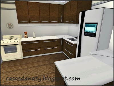 Modern kitchen the sims 3 for Modern kitchen sims 3