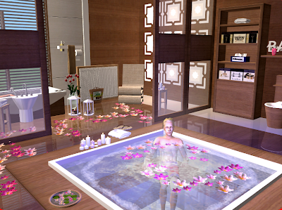 The bathroom by cassandre the sims 2 lsar downloads the for Bathroom ideas sims 3