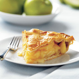 Crustless Apple Pie