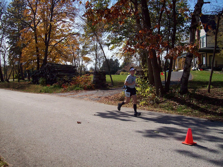 Mile 30.99 of the Glacial Trail 50k