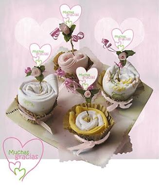 Cupcakes Ropa de Bebé Niña
