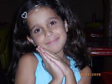 Esse é meu anjo!Minha filha Sarah com 8 anos